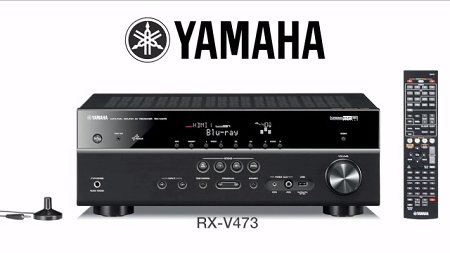 Yamaha rx v479 network av receiver for Yamaha home theatre customer care number